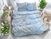 Постельное белье Svit New Line бязь ГОСТ 1,5-спальное 70х70 см арт.Фантазия голубой