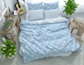 Постельное белье Svit New Line бязь ГОСТ 1,5-спальное 70х70 см арт.008-2 Мари голубой