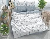 Постельное белье Svit New Line бязь ГОСТ 1,5-спальное 70х70 см арт.011 Звездопад серый