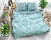 Постельное белье Svit New Line бязь ГОСТ 1,5-спальное 70х70 см арт.Папоротник зеленый