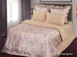 Постельное белье Павлина сатин-жаккард 1,5-спальное 70х70 арт. 053 МАХАРАДЖИ