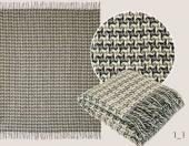 Плед Valtery Новозеландская шерсть 100% 140х200 см арт. 1-1
