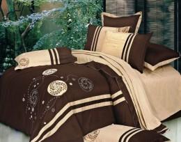 Постельное белье Вальтери сатин с вышивкой (100-49) 2 спальное
