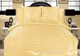 Постельное белье Марианна арт. 05 шелк-жаккард полоса евро 70х70 и 50х70 см