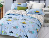 Детское постельное белье Примавера сатин 1,5-спальное 70х70 см арт. 1303