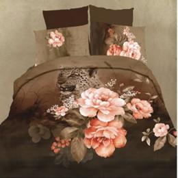 Постельное белье Famille Королевский сатин арт. RS-145 евро 50х70 см
