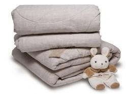 Одеяло Формула Мод ЛЕН Люкс теплое с замком 1,5-спальное 140х205 см