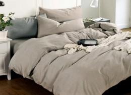 Постельное белье Valtery Лен с хлопком 1,5-спальное 70х70 см арт. LE-01