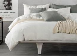Постельное белье Valtery Лен с хлопком 1,5-спальное 70х70 см арт. LE-02