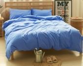 Постельное белье Valtery Лен с хлопком 2-спальное 4 наволочки арт. LE-08