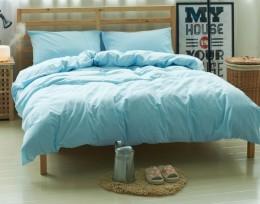 Постельное белье Valtery Лен с хлопком 2-спальное 4 наволочки арт. LE-10