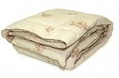 Одеяло ПИЛЛОУ Верблюжья шерсть Люкс теплое 1,5-спальное 140х205 см