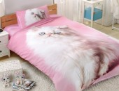 Детское постельное белье Valtery сатин 1,5-спальное 50х70 см арт. DS-17