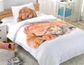 Детское постельное белье Valtery сатин 1,5-спальное 50х70 см арт. DS-19