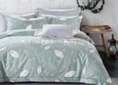 Постельное белье Soavita мако-сатин 2-спальное макси 4 аволочки арт.2013
