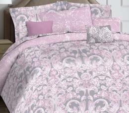 КПБ Mona Liza Marquise Premium сатин евро 4 нав. арт.5047/0051 Madeleine pink