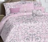 Постельное белье Mona Liza Marquise Premium сатин евро 4 наволочки арт.5047/0051 Madeleine pink
