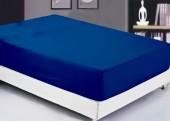 Простыня на резинке Valtery софткоттон 90х200х20 см арт. PRMF-02 синий