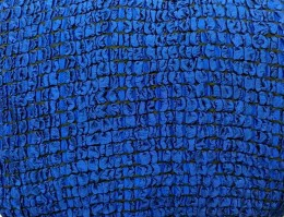 Чехлы для дивана 3-местн + кресла (2) Karbeltex Модерн Макси б/оборки т-синий
