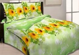Постельное белье Орхидея арт. 3940-3 бязь евро 70х70 см