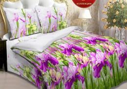 Постельное белье Орхидея арт. 3980-2 бязь евро 70х70 см