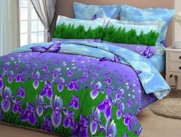 Постельное белье Орхидея арт.4025-1 бязь дуэт 70х70 см