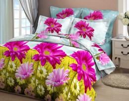 Постельное белье Орхидея бязь 2-спальное 70х70 см арт. 4209/1