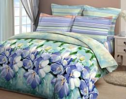 Постельное белье Орхидея арт. 4321-2 бязь 2-спальное 70х70 см