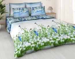 Постельное белье Орхидея бязь 1,5-спальное 70х70 см арт. 4571/1