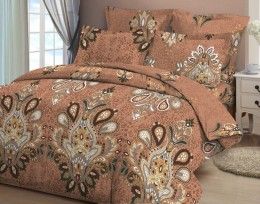 Постельное белье Орхидея арт. 4629-1 бязь 2-спальное макси 70х70 см