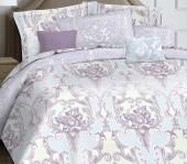 Постельное белье Mona Liza Marquise Premium сатин евро 4 наволочки арт.5044/0053 Estelle lavender