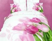 Постельное белье Famille Королевский сатин арт. RS-86 евро 50х70 см