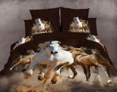 Постельное белье Famille Королевский сатин арт. RS-97 2-спальное 4 наволочки