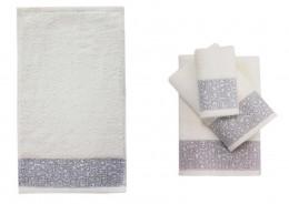 Полотенце ROSEBERRY махровое хлопок 100% 30х50 см арт. ARDERE CREAM (кремовый)