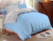 Постельное белье Amore Mio сатин однотонный 2-спальное макси 70х70 см арт. BZ Alaska