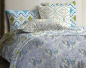 Постельное белье Mona Liza Lagoon ранфорс 2-спальный 70х70 арт.Aroma