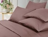 Постельное белье Веросса страйп-сатин Роял Ash 1,5-спальное 50х70 см