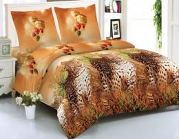 Постельное белье Amore Mio макосатин 1,5-спальное 70х70 см арт.BZ Corumba