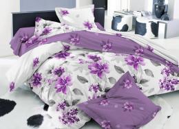 Постельное белье Amore Mio сатин 1,5-спальное 70х70 см арт. BZ Samira GR