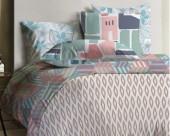 Постельное белье Mona Liza Lagoon ранфорс 2-спальный 70х70 арт.Breeze