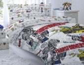Детское постельное белье Mona Liza бязь 1,5-спальное 50х70 см Transformers BUMBLEBEE