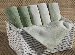 Набор полотенец Иссимо CARLA бамбук 30х50 (6 шт)