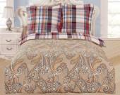 Постельное белье Valtery сатин печатный 1,5-спальное 50х70 см арт. CL-278