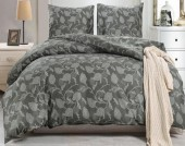 Постельное белье Valtery сатин печатный 2-спальное 70х70 см арт. CL-334