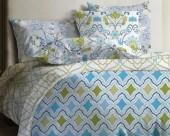 Постельное белье Mona Liza Lagoon ранфорс 2-спальный 70х70 арт.Calm
