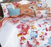 Постельное белье Mona Liza Premium сатин 2-спальный 4 наволочки арт.Clematis