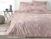 Постельное белье Mona Liza Premium JUNGLE сатин 1,5-спальный 70х70 см арт.5047/0059 CORAL