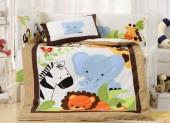 Детское постельное белье Valtery (комплект с бортиком) для новорожденных арт. DK-25