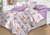 Детское постельное белье Valtery поплин 1,5-спальное 50х70 см арт. DL-2 Маленькая принцесса