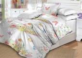 Детское постельное белье Valtery поплин 1,5-спальное 50х70 см арт. DL-5 Птичка